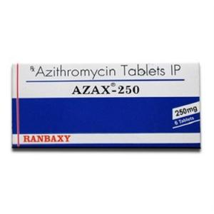 Azax-250 - Azithromycin - Ranbaxy, India