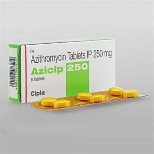 Azicip 250 - Azithromycin - Cipla, India
