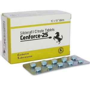 Cenforce-25 - Sildenafil Citrate - Centurion Laboratories