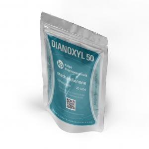 Dianoxyl 50 - Methandienone - Kalpa Pharmaceuticals LTD, India