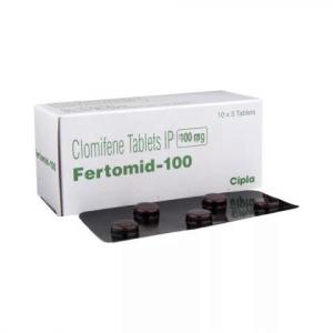 Fertomid-100 - Clomiphene - Cipla, India