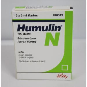 Humulin N - Insulin - Lilly, Turkey