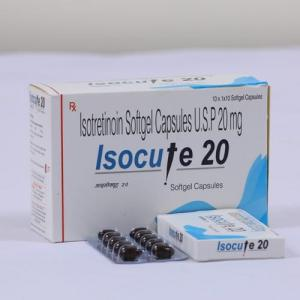 Isocute 20 - Isotretinoin - Cutis Biologicals