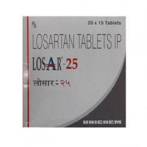 Losar-25 - Losartan - Unichem Laboratories Ltd.