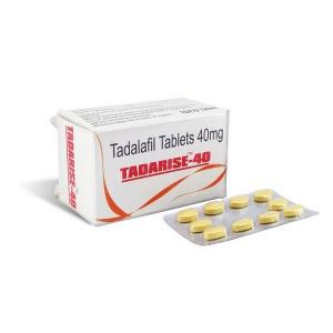 Tadarise-40 - Tadalafil - Sunrise Remedies