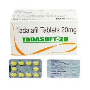 Tadasoft 20 mg - Tadalafil - Sunrise Remedies