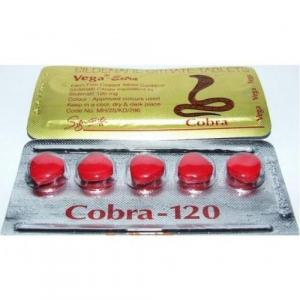 Vega-Extra Cobra - Sildenafil Citrate - Signature Pharma, India